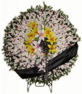 تاج گل ختم خیریه برای موسسه خیریه