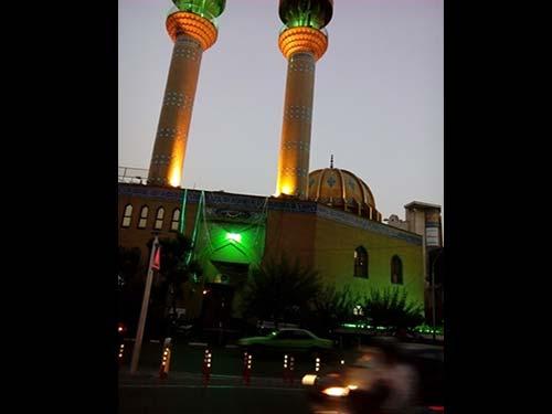 مسجد النبی امیرآباد جهت رزو مراسم ختم