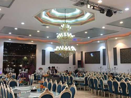 تالار پذیرایی در نزدیک بهشت زهرا