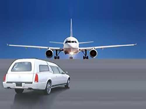 ترخیص جنازه از فرودگاه و حمل جنازه به سایر شهرها