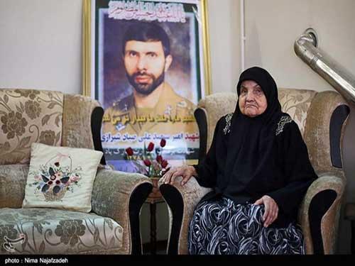 مادر صیاد شیرازی درگذشت