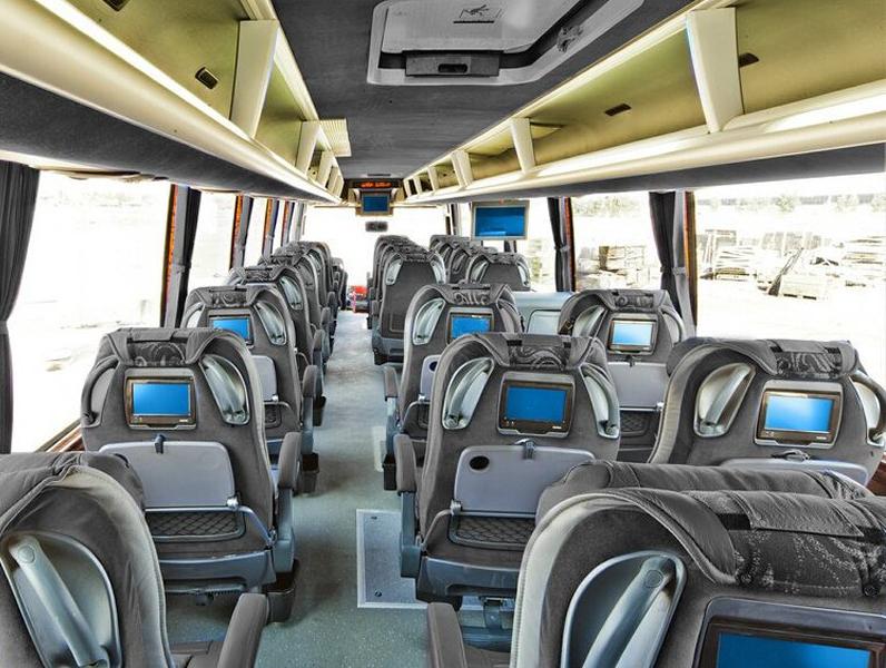 اجاره اتوبوس دربستی اسکانیا 25 نفره