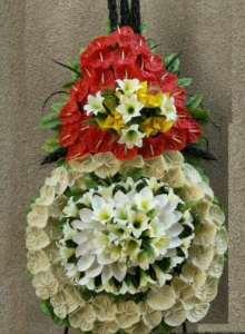 تاج گل خیریه ولیعصر اجاهر انواع تاج گل خیریه