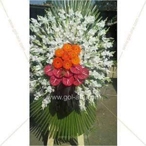 تاج گل فرشی و قبول سفارش تاج گل برای مراسم ترحیم