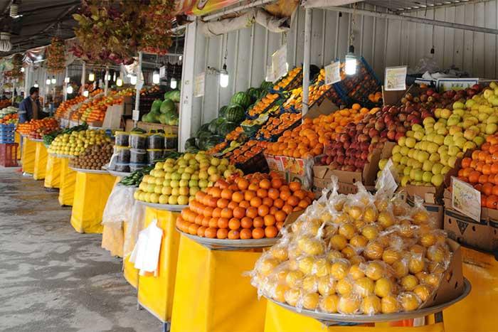خرید میوه به تاریخ روز از بازار میوه