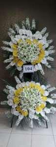 سفارش تاج گل و استند تبریک و تسلیت موسسه خیریه کهریزک