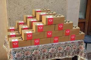 پک میوه و بسته های پذیرایی میوا برای مراسم مختلف