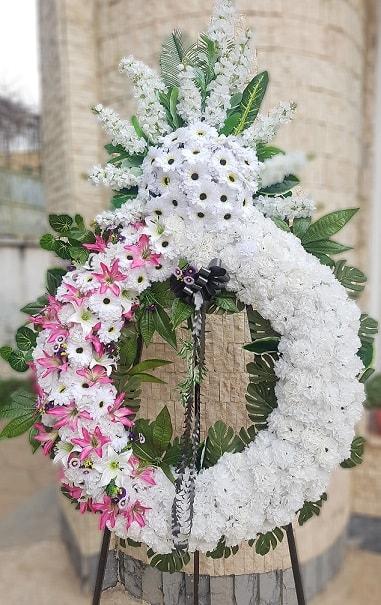 تاج گل خیریه مصنوعی در شیراز