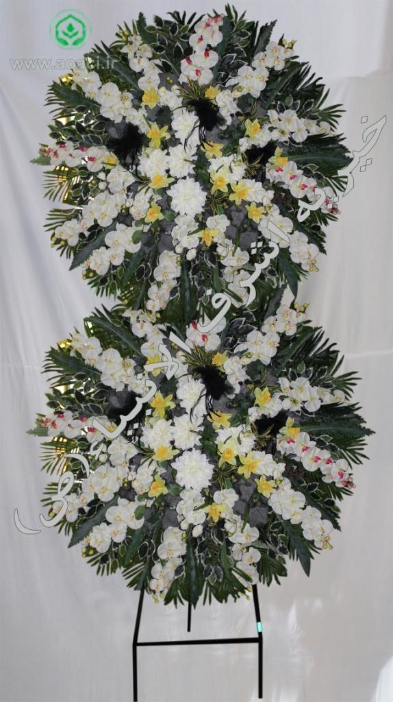 ارسال تاج گل خیریه موسسه شرف الانبیا