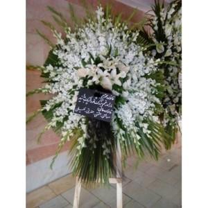 تاج گل ترحیم سفارش مراسم ختم