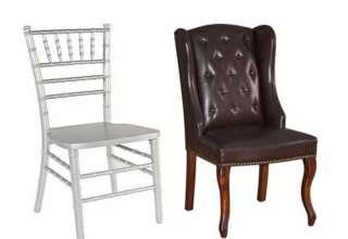 صندلی شیواری - مبل چرم
