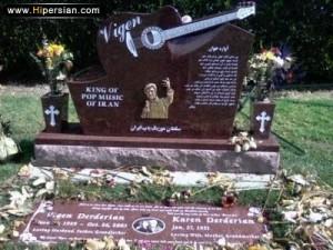سنگ قبر ویگن