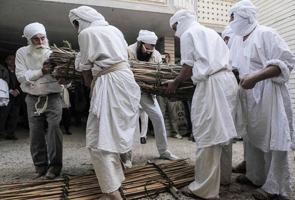 خاکسپاری رهبر صابئین ایران