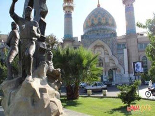 مسجد امام صادق میدان فلسطین