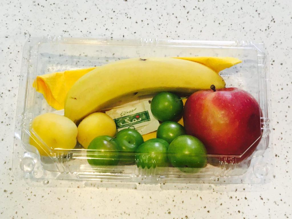 پیک میوه پذیرایی