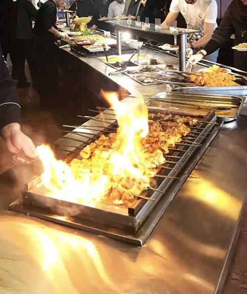 رستوران اردک آبی