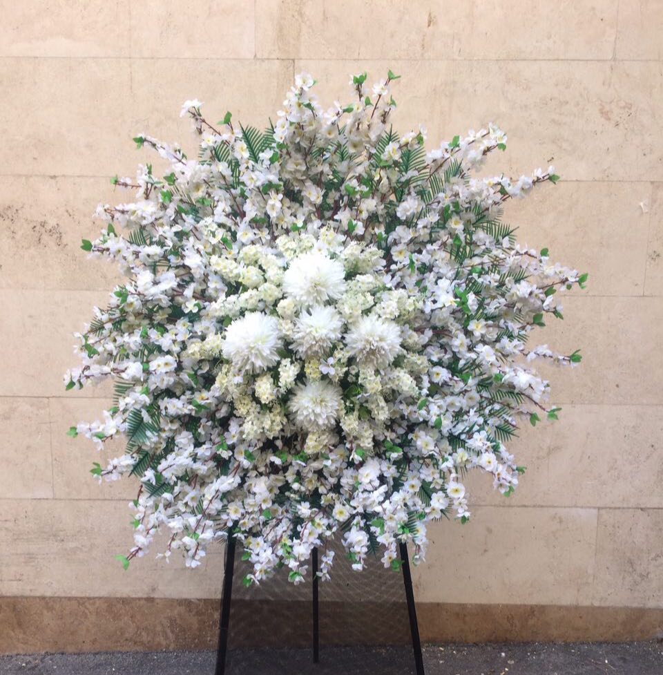 نمونه تاج گل مصنوعی موسسه خیریه ولیعصر شماره 6