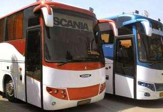 اجاره اتوبوس برون شهری اسکانیا