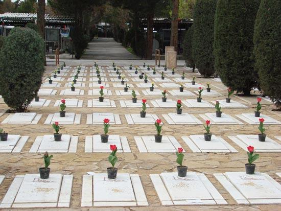 هزینه قبر در تهران در قطعات ویژه و خاص بهشت زهرا