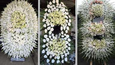 تهیه و ارسال انواع تاج گل ترحیم بهشت زهرا (گل سرای میثم)