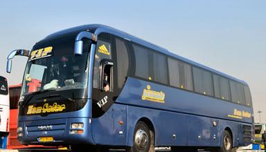 کرایه اتوبوس بهشت زهرا درون شهری 25 نفره تشریفاتی فول امکانات