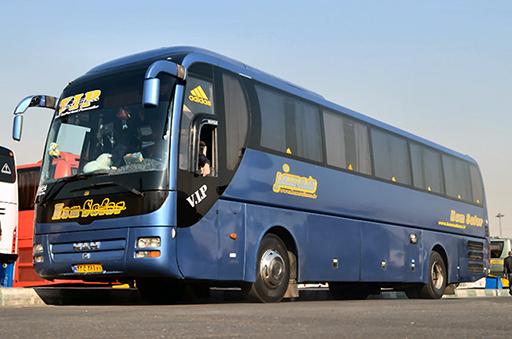 اتوبوس درون شهری 25 نفره تشریفاتی فول امکانات