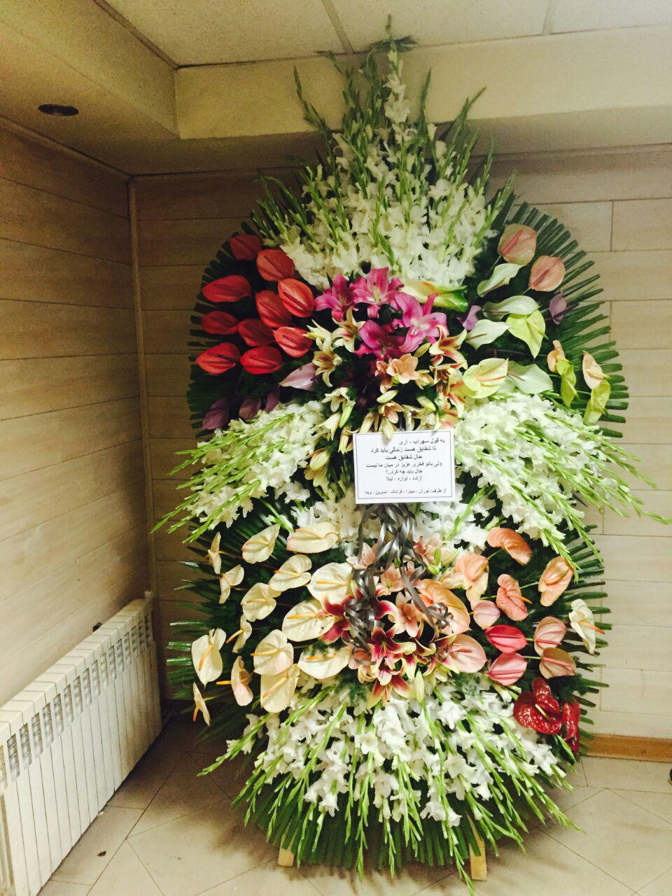 تاج گل مراسم ختم مناسب برای عرض تسلیت