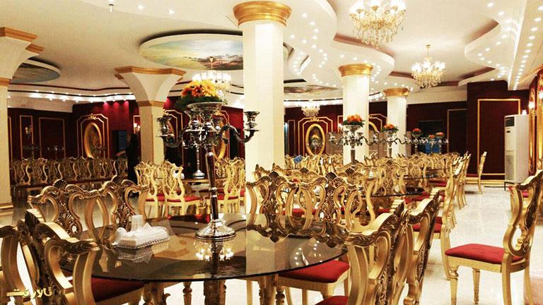 تالار پذیرایی حیدر بابا مناسب برای برگزاری مراسمات ختم و شادی