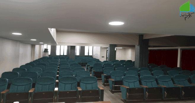 سالن 200 نفری مسجد توحید