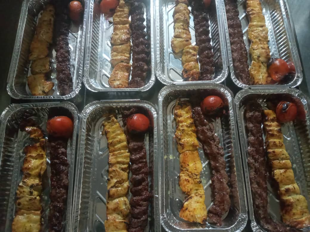 سفارش غذا در تالار ترحیم مسیر بهشت هزار