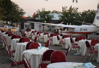 تالار رستوران هوایی