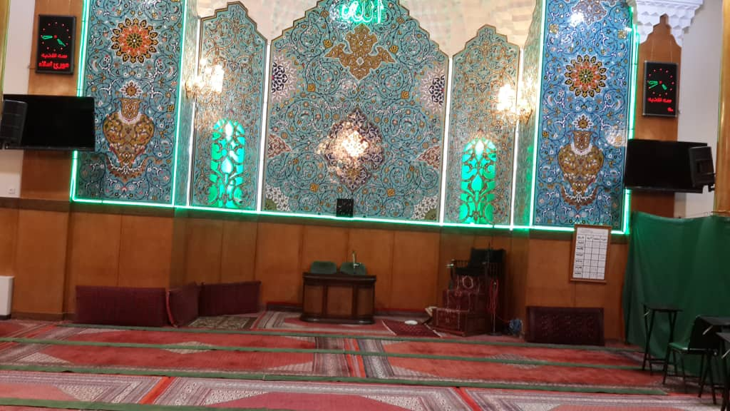 مسجد فخرالدوله جهت برگزاری مراسم ختم و ترحیم