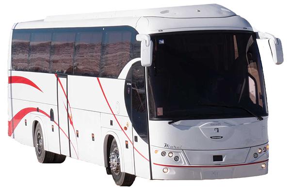 اجاره اتوبوس دربستی اسکانیا مارال برای بهشت زهرا