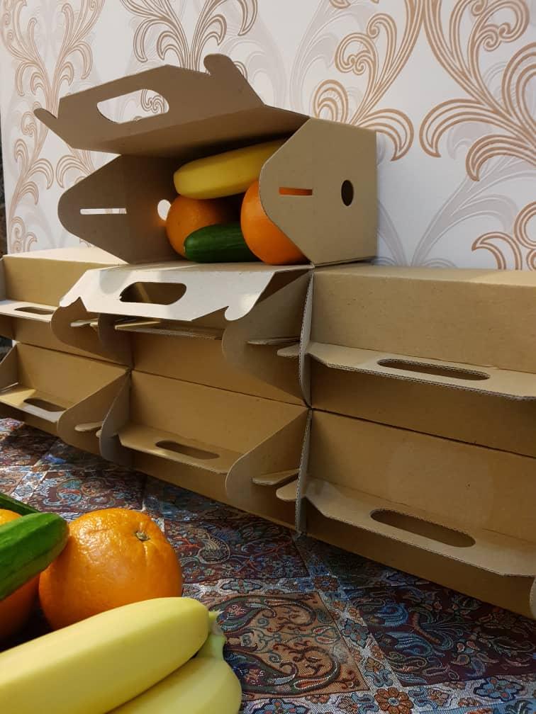 جعبه پذیرایی میوه