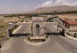 تصویر نمای ورودی بهشت سکینه کرج