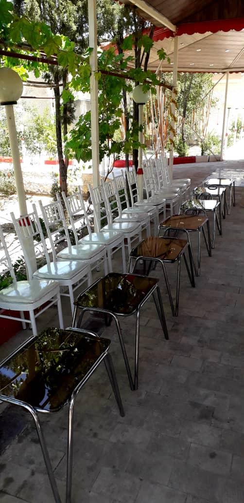 اجاره میز عسلی  و صندلی شیواری در اصفهان