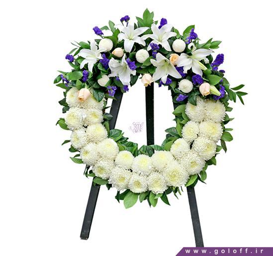 سفارش تاج گل یک طبقه در اصفهان مناسب برای عرض تسلیت