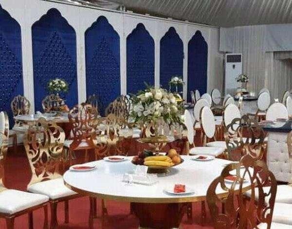 باغ تالار پذیرایی اکباتان جهت برگزاری مراسم عزا در اصفهان