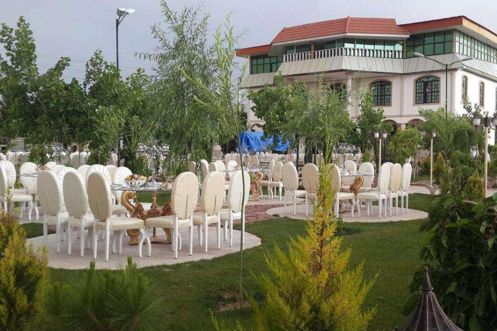 باغ تالار ختم تاج محل در شیراز