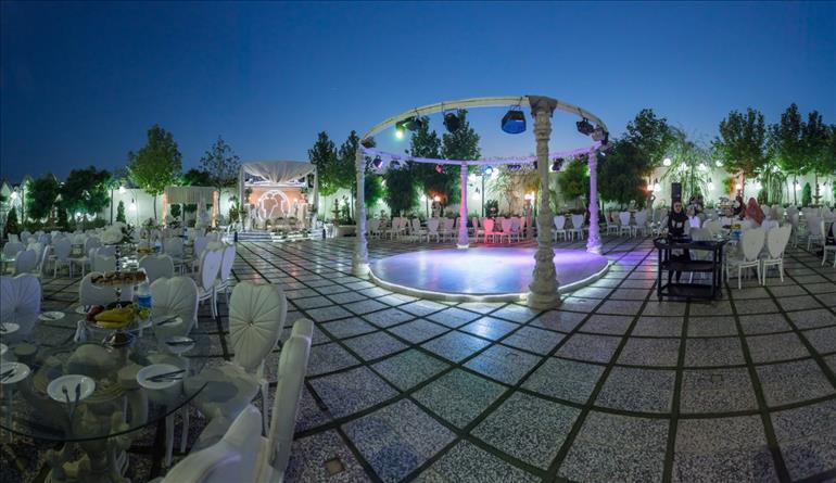 باغ تالار نفس مناسب برگزاری مراسم ترحیم در مشهد