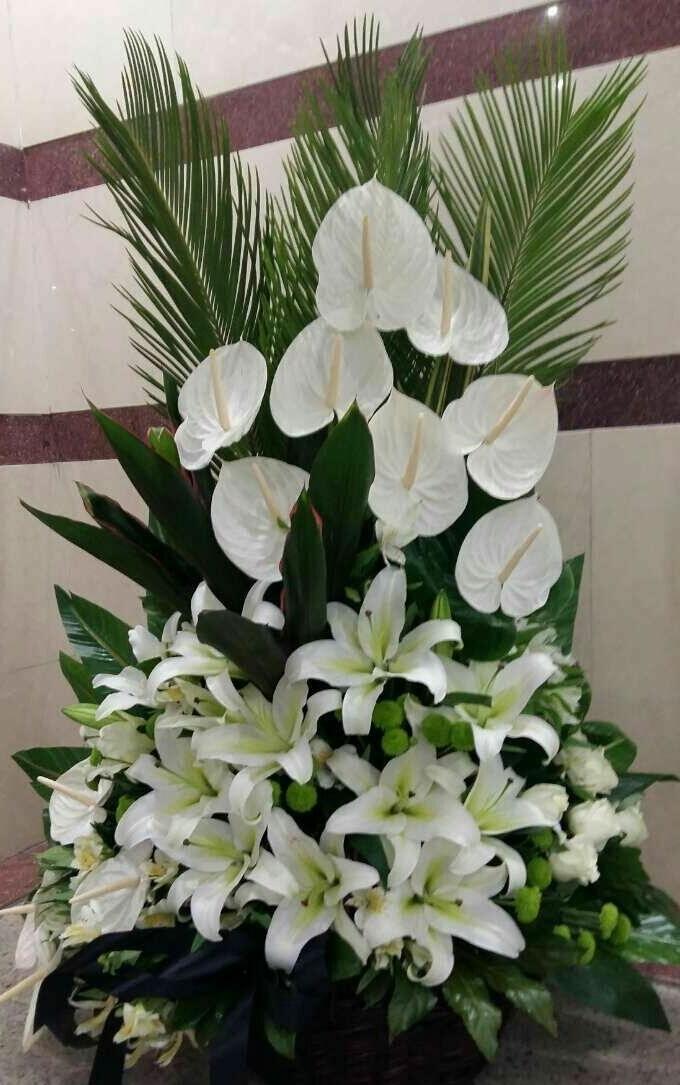 تاج گل ترحیم مناسب عرض تسلیت در اصفهان